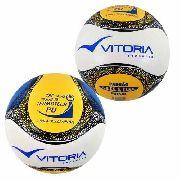 kit 2 Bolas Futsal Vitória Oficial Pu 6 Gomos Sub 15
