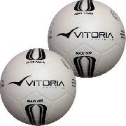 Bola Futsal Vitoria Oficial Prata Max 500 - 2 Unidades