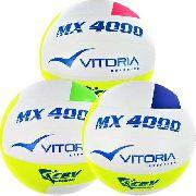 Bola Volei Oficial Vitoria Mx4000 - Leve 3 Unidades