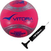 Bola Futsal Vitoria Oficial Termotec Feminina + Bomba