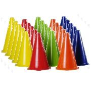 Kit 20 Cones 24 Cm Treinamento Funcional