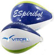 Kit 2 Bolas Espiribol Oficial Vitoria (espiroboll Original)