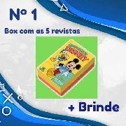 Box Especial 5 Novas Edições Lançamento Disney 2019 Nº 1