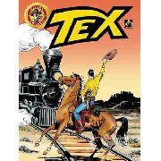 Revista Hq Gibi - Tex Em Cores 34 - Trilhos Da Morte