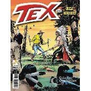 Revista Hq Gibi - Tex Mensal 567 - Duelo De Chefes