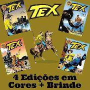 kit 4 Hq Tex Em Cores 31 32 33 34 - Histórias Completas