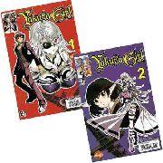 Revista Hq Mangá - Yakuza Girl N° 01 E 2 Mini Série Completa