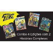 Combo Tex Coleção 403, 404, 405 E 406 Histórias Completas