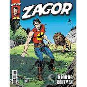 Revista Hq Gibi - Zagor 167 - O Zoo De Kaufman
