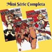 Mangá Hq Queen´s Blade 1 2 3 - Mini Série Completa Em 3 Edições
