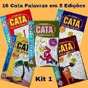 16 Cata Caça Palavras Coquetel Em 5 Edições Encadernadas K1