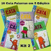 16 Cata Caça Palavras Coquetel Em 5 Edições Encadernadas K2