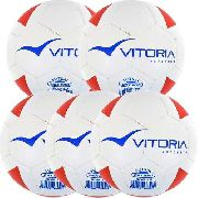 Kit 5 Bolas Futsal Vitoria Brx Max 200 Sub 13 (11/13 Anos)
