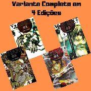 Mangá Hq Gibi Variante Série Completa Em 4 Edições