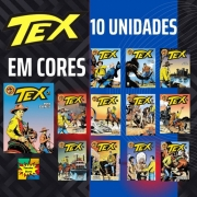 Combo Hqs Tex Em Cores 10 Unidades Sortidas
