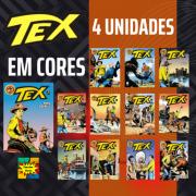 Combo Hqs Tex Em Cores 4 Unidades Sortidas
