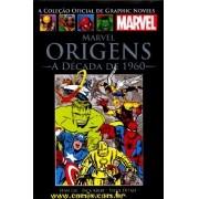 Graphic Novels Marvel - Clássicos n° 1 - Marvel origens: A década de 1960