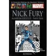 Graphic Novels Marvel - Clássicos n° 9 - Nick fury - Agente da S.H.I.E.l.D - parte 2