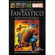 Graphic Novels Marvel n° 31 - Quarteto Fantastico açoes autoritárias