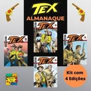 Hq Gibi Tex Almanaque Kit Com 4 Edições Histórias Completas