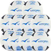 Kit 10 Bolas De Futsal Oficial Vitoria Brx Max 500 Atacado