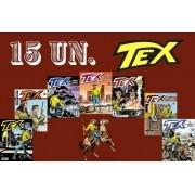 Kit 15 Hqs Gibi Tex Mensal, Coleção Ou Almanaque variados