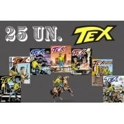 Kit 25 Hqs Gibi Tex Mensal, Coleção Ou Almanaque