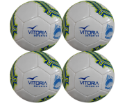 Kit 4 Bola Futebol Sete Society Profissional Adulto Oficial