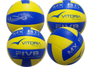 Kit 4 Bolas Volei Oficial Vitoria Mx 8.0 Pro Ultra Macia