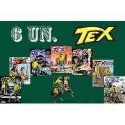 Kit 6 Hqs Gibi Tex Mensal, Coleção Ou Almanaque