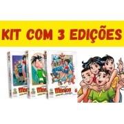 Kit Com 3 Unidades - Turma Da Mônica Jovem - Primeira Série