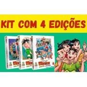 Kit Com 4 Unidades - Turma Da Mônica Jovem - Primeira Série