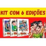 Kit Com 6 Unidades - Turma Da Mônica Jovem - Primeira Série