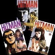 Kit Hq Mangá - Hitman - Matador Por Acaso - Completo 3 Edições