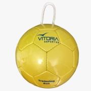 Training Ball Vitoria Esportes Bola com corda para treinamentos diversos