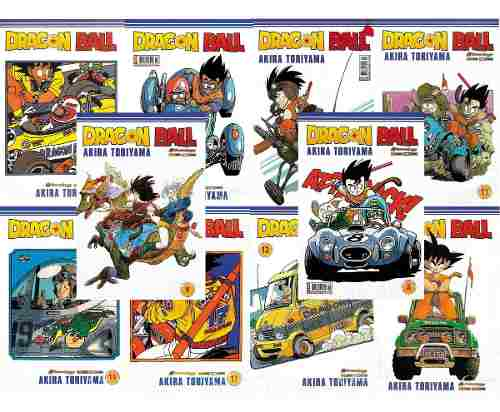 Combo Hq Mangá Dragon Ball 10 Ed. Novas Lacradas  - Vitoria Esportes