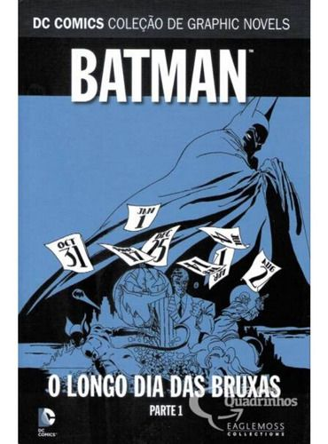 Batman - O Longo Dia Das Bruxas Parte 1  - Vitoria Esportes