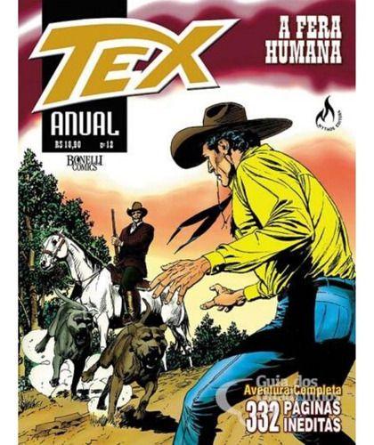 Tex Anual 12 - A Fera Humana  - Vitoria Esportes