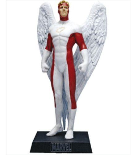 Marvel Figurines Edição 31 - Miniatura Anjo  - Vitoria Esportes