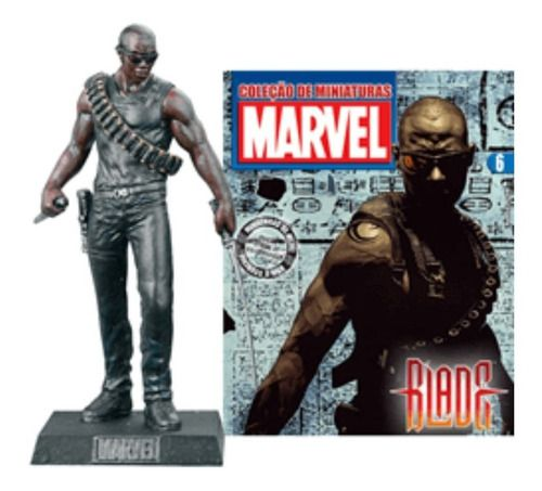 Marvel Figurines Edição 06 - Miniatura Blade  - Vitoria Esportes