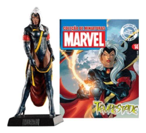 Marvel Figurines Edição 14 - Miniatura Tempestade  - Vitoria Esportes
