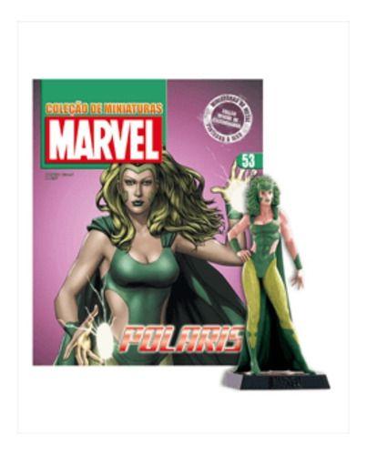 Marvel Figurines Edição 53 - Miniatura Polaris  - Vitoria Esportes