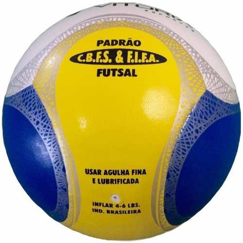 Bola Futsal Vitória Oficial Termotech Pu Kit Com 6 Unidades  - Vitoria Esportes