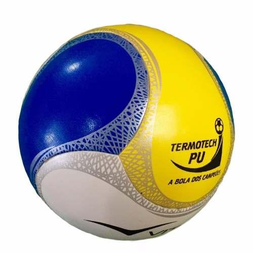 Bola Futsal Vitória Oficial Termotech Pu Kit Com 6 Unidades