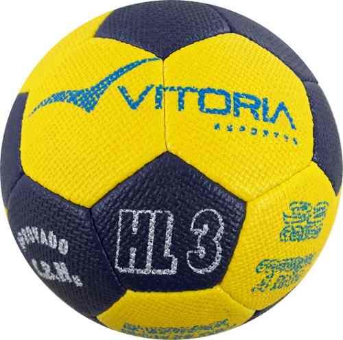 Kit 4 Bolas Handebol Costurada H3l Vitoria Ultra Gripp  - Vitoria Esportes