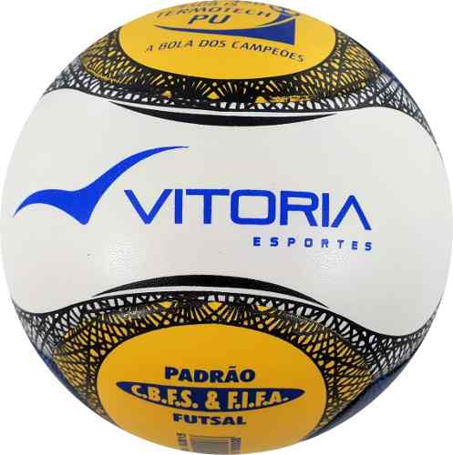 dab3d2442f kit 2 Bolas Futsal Vitória Oficial Termotec Pu 6 Gomos Sub 15 - Vitoria  Esportes