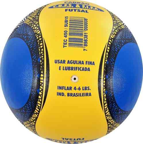 kit 2 Bolas Futsal Vitória Oficial Pu 6 Gomos Sub 15  - Vitoria Esportes