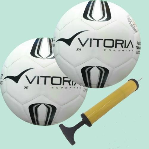 043cb1b444 Bola Futsal Vitoria Prata Max 50 Sub 9 + Bomba De Ar - Vitoria Esportes