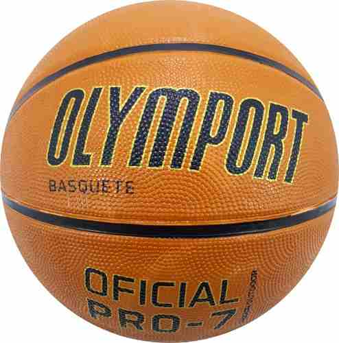 Bola Basquete Oficial Olymport Pró 7.0 - 3 Unidades