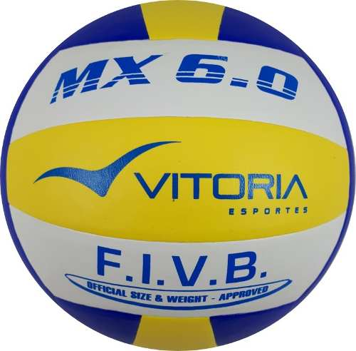 Bola Volei Oficial Vitoria 6.0 Pu - Leve 3 Unidades  - Vitoria Esportes